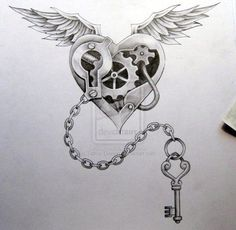 Resultado de imagen para heart clock theme