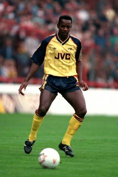 Michael Thomas of Arsenal in 1988.
