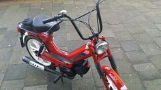 My own Tomos moped snorfiets