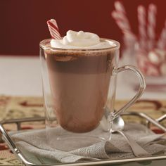 Hot Malted Chocolate Recipe -There's nothing better on a cold day than a steaming mug of rich hot chocolate. Malted milk powder adds a nice touch to this yummy version. —Christy Meinecke, Mansfield, Texas