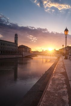 Beautiful Sunset in Pisa by Marco Usala on 500px