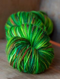 Green yarn    green - colour shades to inspire art, design or new fused glass goodies at Latch Farm Studios www.latchfarmstudios.co.uk