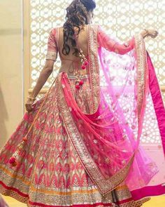 f512058ac4 Anita Dongre Bride-to-be, Khyati Shah, looks exquisite in this lehenga from  the latest Jaipur Bride collection!