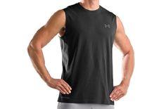Men's UA Charged Cotton® Sleeveless T-shirt « Impulse Clothes