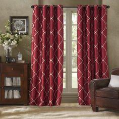 Bombay™ Garrison Grommet Window Curtain Panel - BedBathandBeyond.com