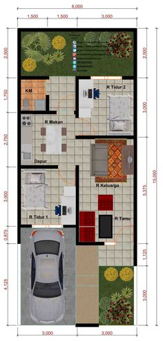 Amazing Beautiful House Plans With All Dimensions - Engineering Discoveries Minimalist House Design, Small House Design, Minimalist Home, Modern House Design, Best House Plans, Small House Plans, House Floor Plans, Home Design Plans, Plan Design