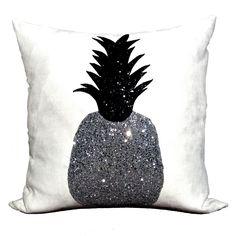 Bitten London - Silver Rush Pineapple Cushion