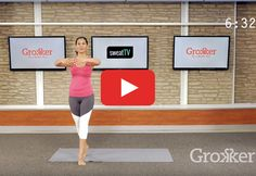 Squeeze this quickie barre sequence into your morning routine. http://greatist.com/move/leg-workout-quick-cardio-barre-sequence