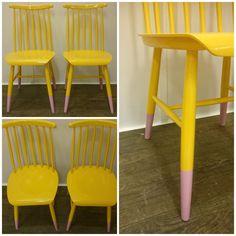 HJERTEHJORT: Noen som hadde slike stoler? Disse får leve litt lengre!