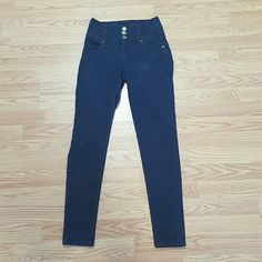 Hipster High Rise Skinnies Love these. They bring out your curves. They look black in picture but they are dark blue. Juniors 3. Celebrity Pink Jeans Skinny