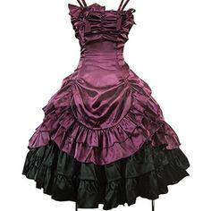 Gothic Vintage Lolita viktorianisches Kleid ca. 79€   Kostüm Idee zu Karneval, Halloween & Fasching
