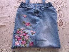 Blue Janes Bags: DIY Recycled Denim Jean Tote Bag Embellished with ...