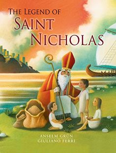 The Legend of Saint Nicholas by Anselm Grun http://www.amazon.com/dp/0802854346/ref=cm_sw_r_pi_dp_FdK-wb0CVH6TA