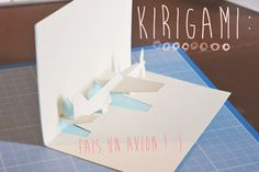 KIRIGAMI airplane