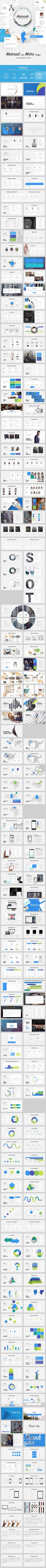 GraphicRiver Materialo Powerpoint UI KIT 16815417
