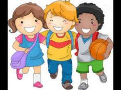 Cartoon of a Group of Happy Diverse School Children - Royalty Free Vector Clipart by BNP Design Studio Illustration Art Nouveau, Family Illustration, Free Clipart Images, Royalty Free Clipart, Vector Clipart, Vector Art, Drawing Simple, Friends Clipart, School Painting