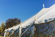 Sailcloth Tent: For Weddings & Events in Kent and East Sussex Tent Hire, Wooden Poles, Sailing Outfit, East Sussex, Tents, Wedding Events, Fair Grounds, Fun, Travel
