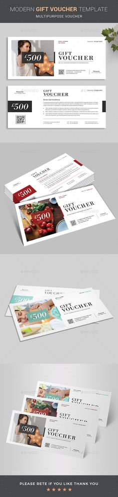 Buy Gift Voucher by BlankToile on GraphicRiver. Modern Gift Voucher Certificate This Gift Voucher Card is best suitable for promoting your business, product or servi. Free Design, My Design, Graphic Design, Invitation Cards, Invitations, Discount Vouchers, Gift Vouchers, Promote Your Business, Gift Certificates