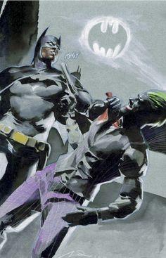 Batman & the Joker by Gerald Parel