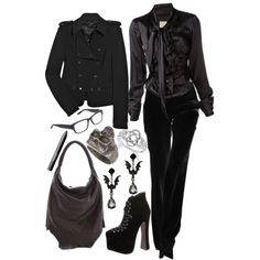 """""""Random Work Outfit IV"""" by paintedsouldesign on Polyvore"""