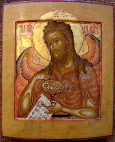 John the Baptist (angel of the desert) russian Sacred Symbols, Sacred Art, Religious Icons, Religious Art, Desert Art, John The Baptist, Orthodox Icons, Christian Art, Christianity