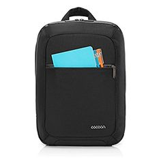 """Amazon.com: Cocoon Innovations Slim Backpack with GRID-IT Fits up to 15"""" Laptop & Built-in 10"""" Tablet Backpack (MCP3401BK): Computers & Accessories"""
