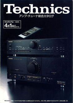 Always loved Technics stuff Audiophile Speakers, Hifi Audio, Stereo Speakers, Audio Vintage, Vintage Ads, Technics Hifi, Audio Sound, Sound Music, Amitabha Buddha