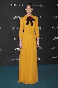 il colore che amo per un inverno curcuma Gucci's Girls And Guys - Celebrities Wearing Designs By Alessandro Michele
