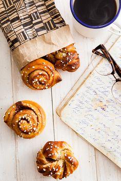 Cinnamon Buns | A Fox in the Kitchen