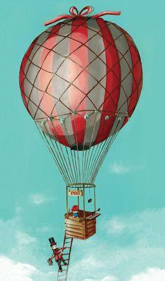 Taxi montgolfière …