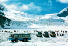 Athabasca Glacier and Columbia Icefield - Jasper National Park (UNESCO WHS site: Canadian Rocky Mountain Parks)