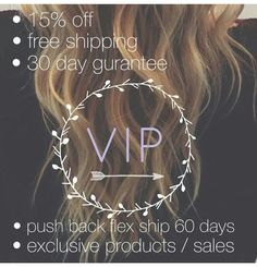 Become a Monat VIP. Message me for details