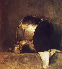 Emil Carlsen Still life With Copper Pan 1901