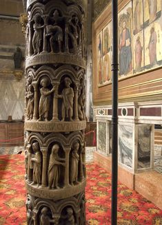 San Marco & Piazza - Venice, Italy - Alabaster Columns 692 AD