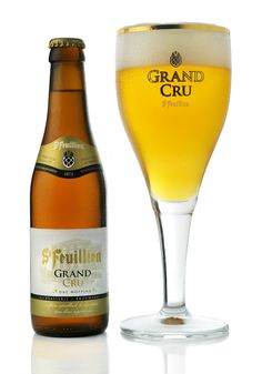 Saint-Feuillien Grand Cru is a blond degustation beer with ABV and is brewed by Belgian Family Brewery Brasserie St-Feuillien. Beers Of The World, Belgian Beer, Cream Soda, Wine And Beer, Best Beer, Craft Beer, Brewery, Liquor, Side Dishes