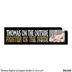 Thomas Fighter 3 bumper sticker
