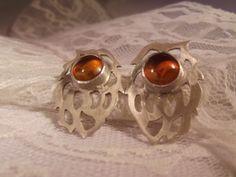 Amber Selkie Cocktail Earrings £25.00