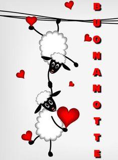 Art Drawings For Kids, Pencil Art Drawings, Sheep Drawing, Cute Couple Wallpaper, Dot Painting, Good Night, Painted Rocks, Clip Art, Valentines