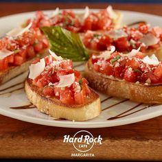 @Regrann from @hrcmargarita -  Deliciosas y perfectas para compartir... #bruschettas #thisishardrock #hrcmargarita