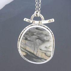 20 best large silver pendants images on pinterest in 2018 craft large sterling silver pendant picasso jasper pendant artisan aloadofball Choice Image