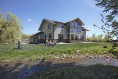 Morton Buildings home in Robertson, Wyoming.