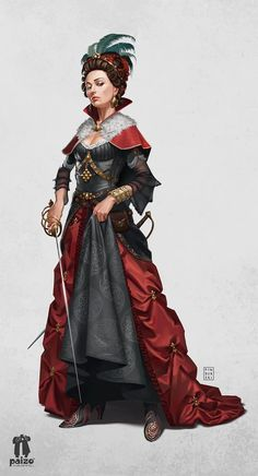 area/region [Princess Eutropia - Taldor Human Aristocrat Swashbuckler - War for the Crown - Pathfinder PFRPG DND D&D ed fantasy Young Falyse] Fantasy Character Design, Character Concept, Character Inspiration, Character Art, Dnd Characters, Fantasy Characters, Female Characters, Pathfinder Character, Fantasy Armor