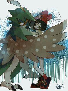 Dewsidueye is always going to be 1 of my favorites #pokemonart