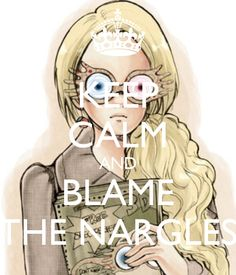 KEEP CALM AND BLAME THE NARGLES