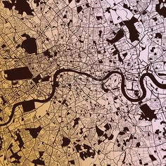 Download from $0.99, London Two-Tone Map Artprint, Vector Outline Version, ready for color change...,  #abstract #background #britain #capital #cartography #center #city #district #england #europe #geography #great #greater #greenwich #illustration #kingdom #london #map #navigation #old #pattern #place #plan #river #road #satellite #street #texture #thames #topography #tower #town #travel #uk #united #urban #vector #view #white