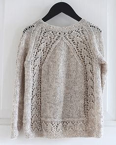 Ravelry: Pinneguri's Barnejakka Galanthus Lace Knitting, Knitting Patterns, Knitting Designs, Knitting Projects, Knitting Stitches, Knit Or Crochet, Purple Rose, Cardigans, Diy Pullover