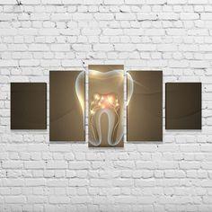 Business Office Decor, Dental Office Decor, Dental Art, Dental Office Design, Dental Wallpaper, Dental Business Cards, Dental Clinic Logo, Clinic Interior Design, Dental Hospital