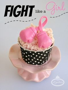 Fight Like a Girl: Breast Cancer Awareness Cupcakes | Party Favors, Decorations and Supplies | Scoop.it