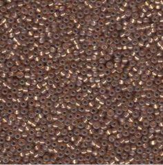 Miyuki Glass Seed Beads 24 Grams Bronze Size 11  11-9641