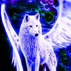 Anime Wolf With Wings Beautiful Anime Wolf, Galaxy Wolf, Wolf Artwork, Wolf Painting, Fantasy Wolf, Wolf Spirit Animal, Wolf Wallpaper, Wolf Love, Wolf Pictures